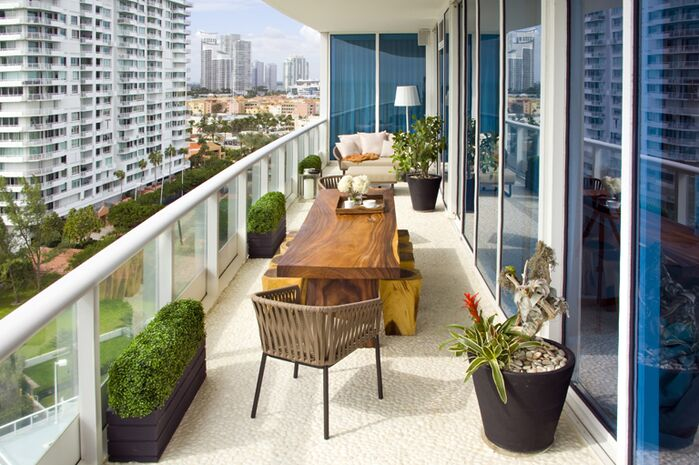 Eclectic Exterior/Patio photo by SOJO Design
