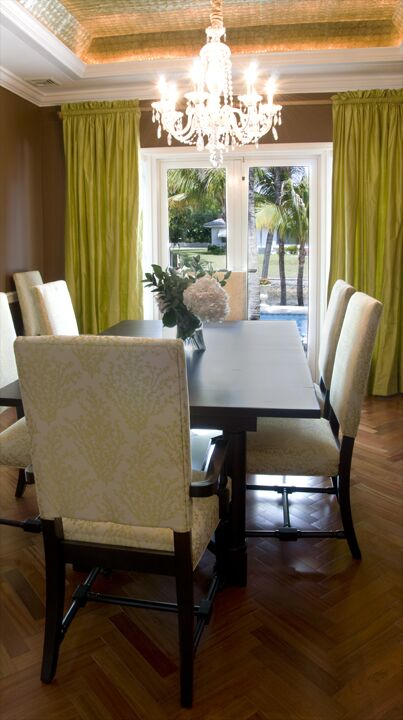 Eclectic Dining Room photo by Dawn Elise Interiors