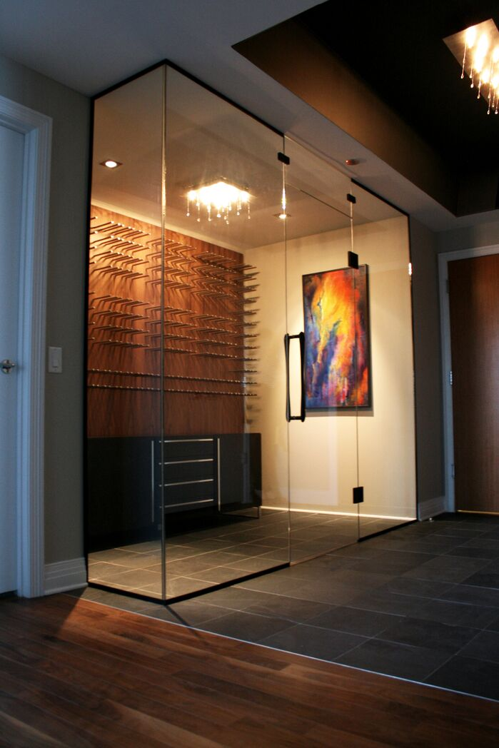 Contemporary Entryway and Hallway photo by VARA Design