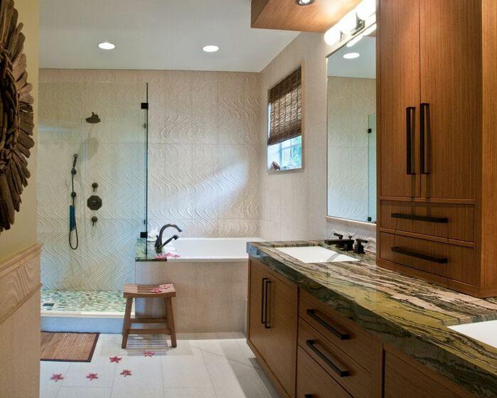Contemporary Bathroom photo by Dawn Elise Interiors
