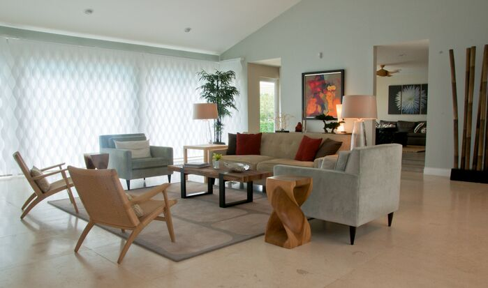 Contemporary Living Room photo by Dawn Elise Interiors