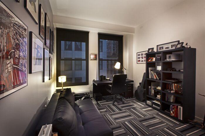 Contemporary Home Office photo by Vanessa Deleon Associates
