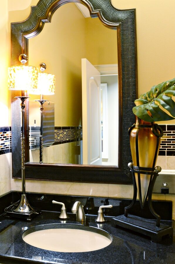 Eclectic Bathroom photo by Melody Jurick Designs