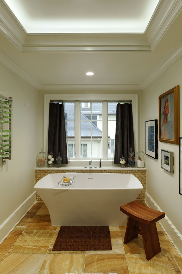 Contemporary Bathroom photo by Darlene Molnar LLC