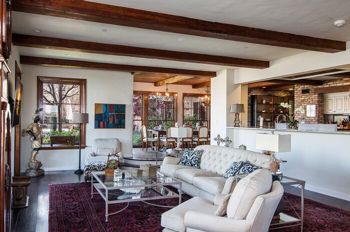 Rustic Living Room photo by Beth Whitlinger Interior Design
