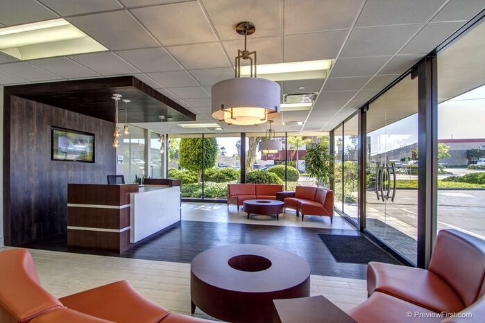 Contemporary Commercial photo by San Diego Office Design
