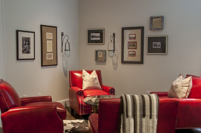 Rustic Living Room photo by 2 Gays & A Design
