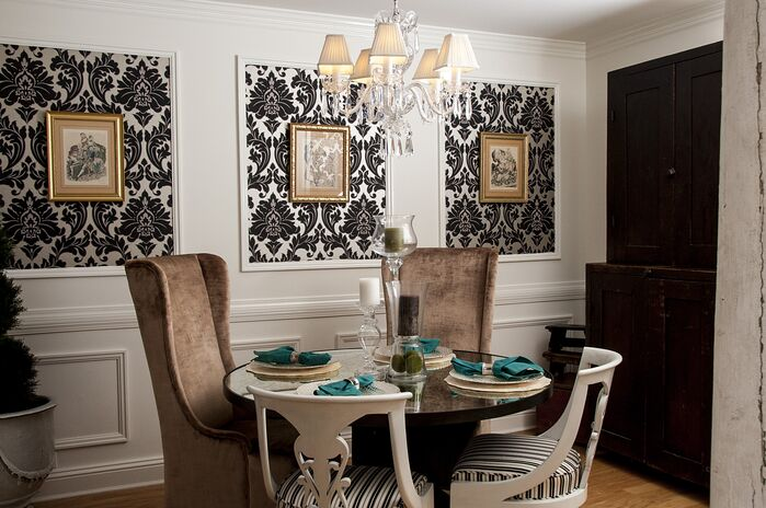 Eclectic Dining Room photo by 2 Gays & A Design