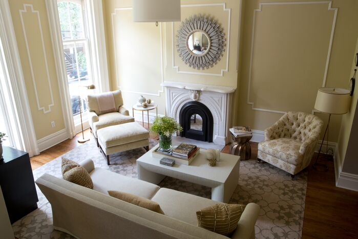 Traditional Living Room photo by J. Patryce Design
