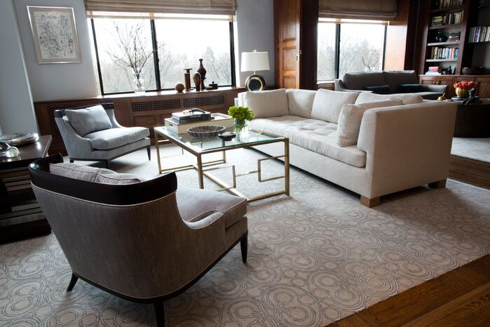 Contemporary Living Room photo by J. Patryce Design