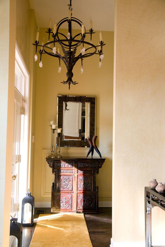 Contemporary Entryway and Hallway photo by Deb Reinhart Interior Design Group, Inc.