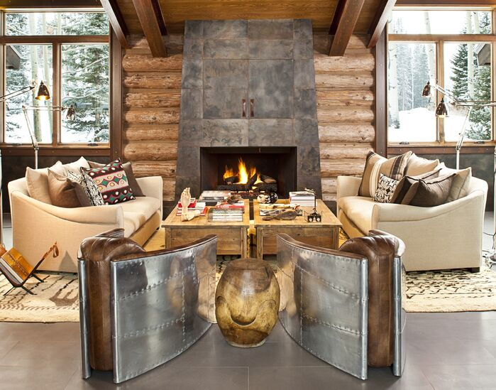 Rustic Living Room photo by Studio Frank