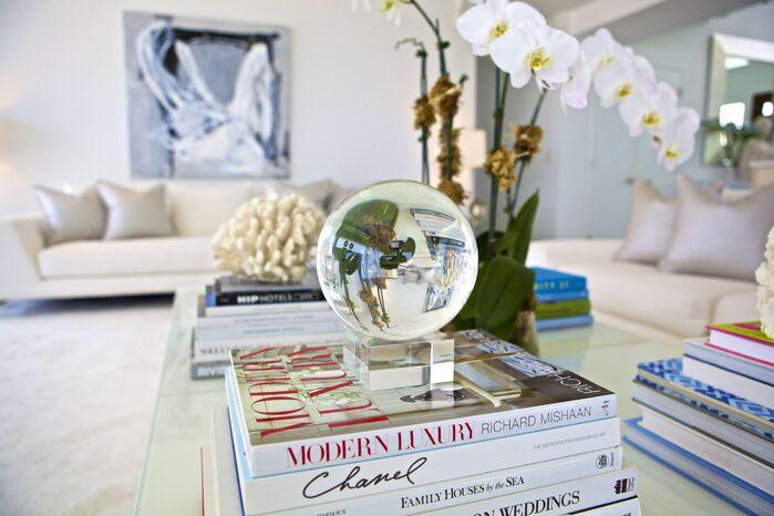 Contemporary Living Room photo by Sam Allen Interiors