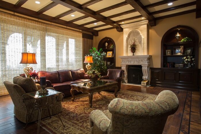 Traditional Living Room photo by Beth Whitlinger Interior Design