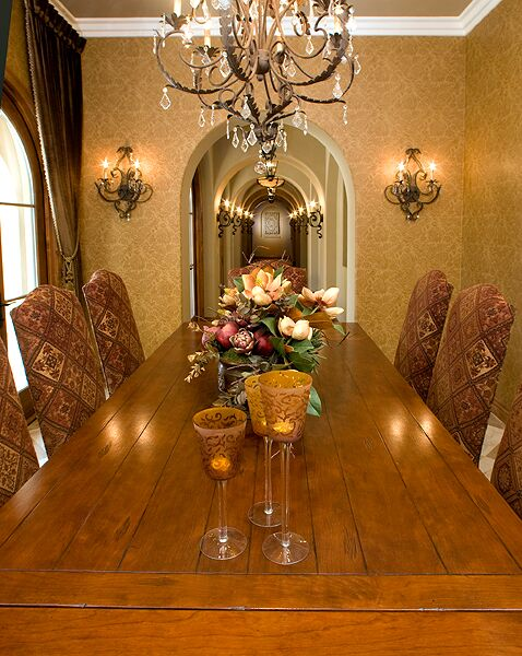 Traditional Dining Room photo by Beth Whitlinger Interior Design