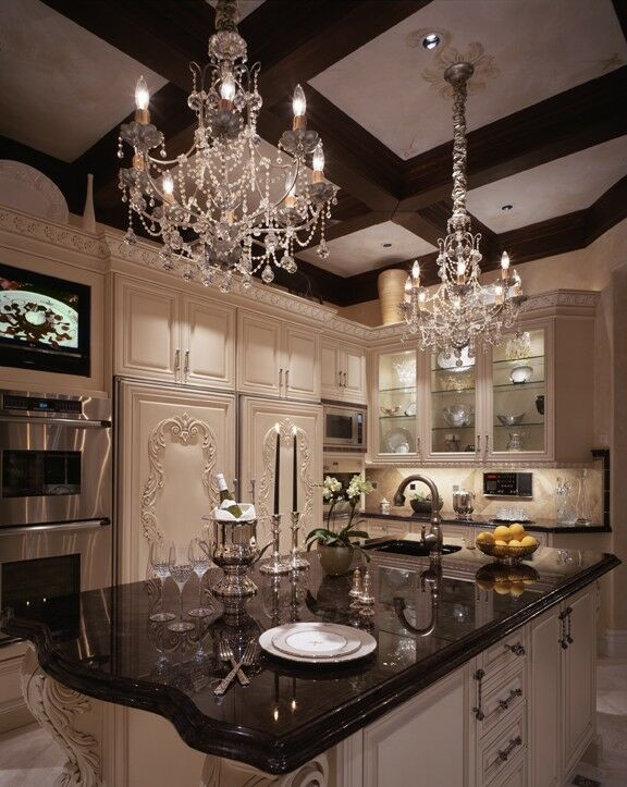 Glam Kitchen photo by Beth Whitlinger Interior Design