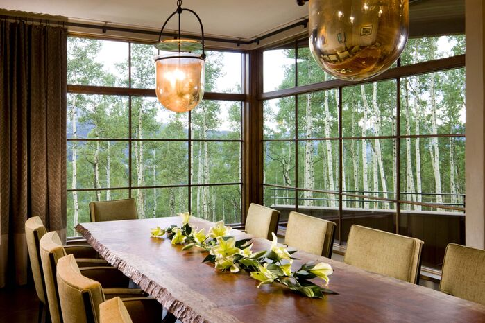 Contemporary Dining Room photo by Studio Frank