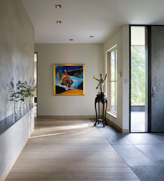 Modern Entryway and Hallway photo by Studio Frank