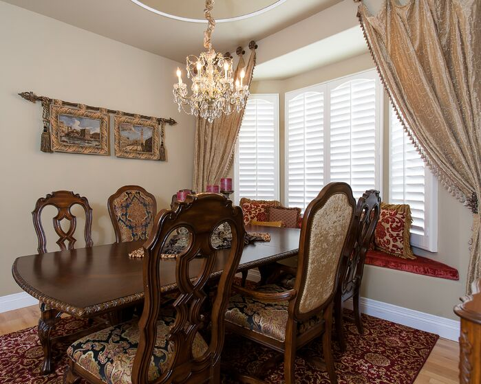 Traditional Dining Room photo by Lynch Design Group
