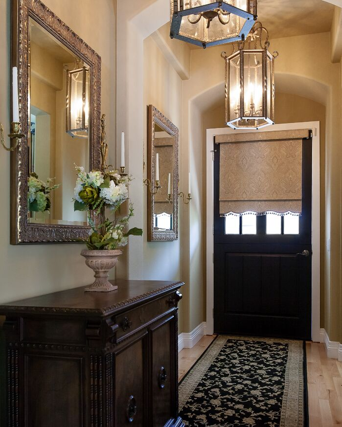 Traditional Entryway and Hallway photo by Lynch Design Group