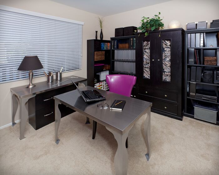Contemporary Home Office photo by Lynch Design Group