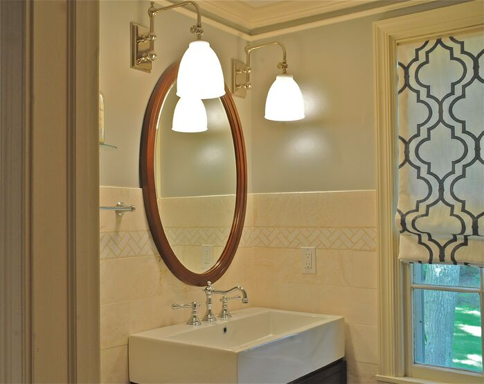Modern Bathroom photo by Beth Interiors