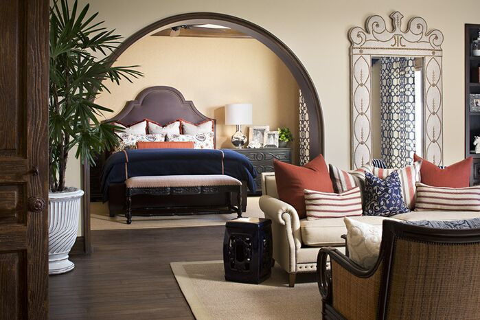 Contemporary Bedroom photo by Style On a Shoestring