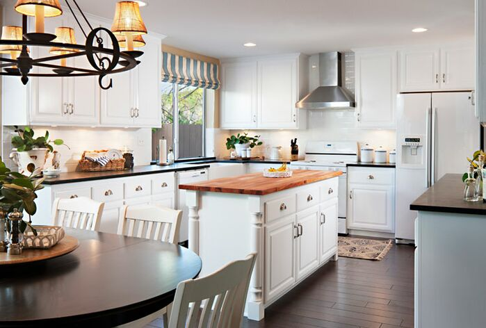 Coastal Kitchen photo by Style On a Shoestring