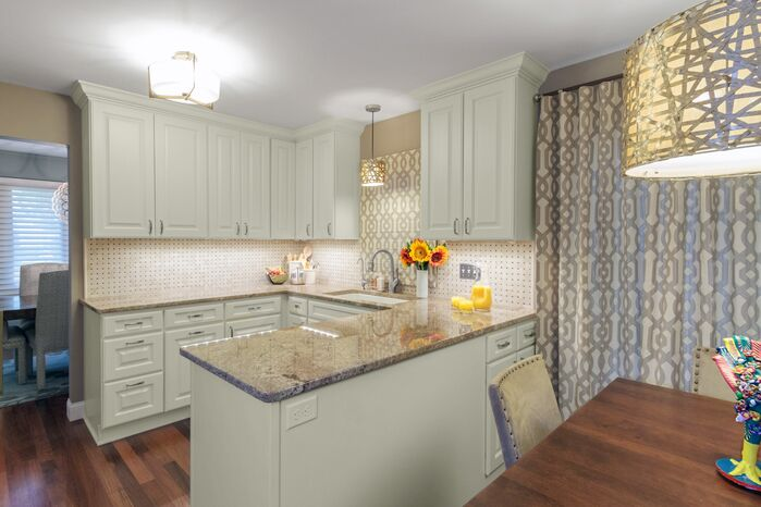 Traditional Kitchen photo by Alison Besikof Custom Designs