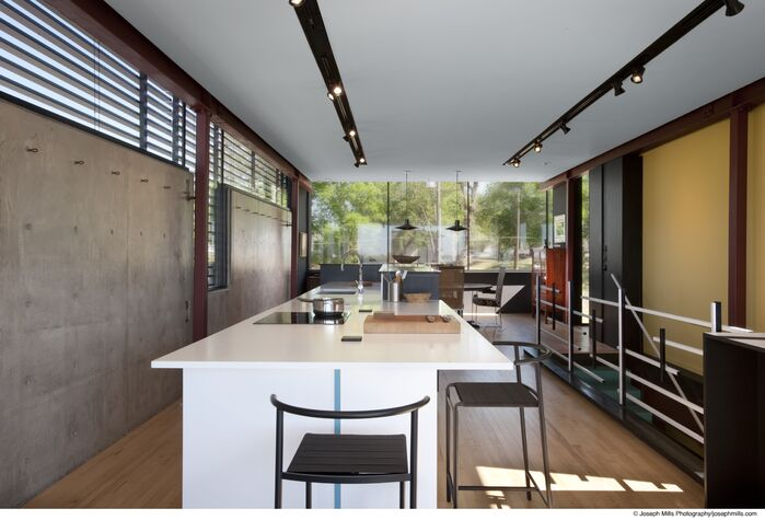 Modern Kitchen photo by Fitzsimmons Architects