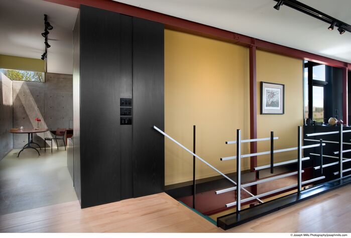 Modern Entryway and Hallway photo by Fitzsimmons Architects