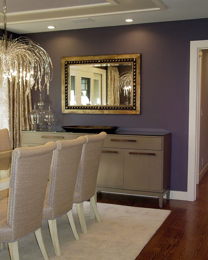 Glam Dining Room photo by Design Matters