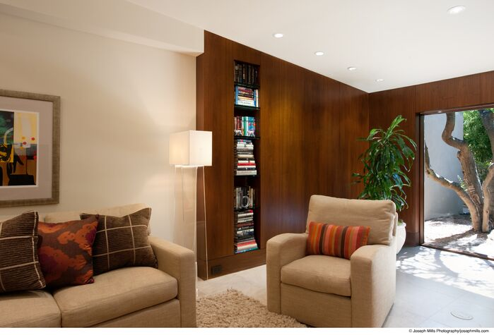Modern Living Room photo by Fitzsimmons Architects