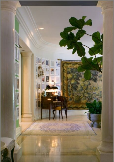 Eclectic Entryway and Hallway photo by Tracy Murdock Interior Design