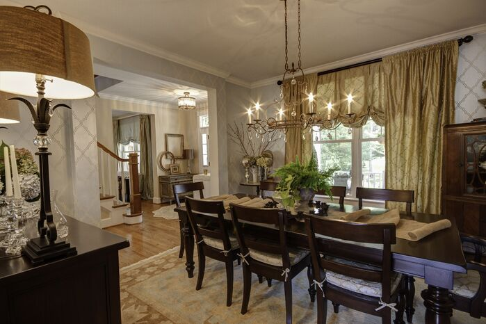 Traditional Dining Room photo by Embellish Interiors