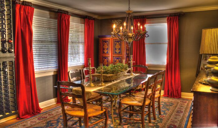 Traditional Dining Room photo by Esther LaVonne Design