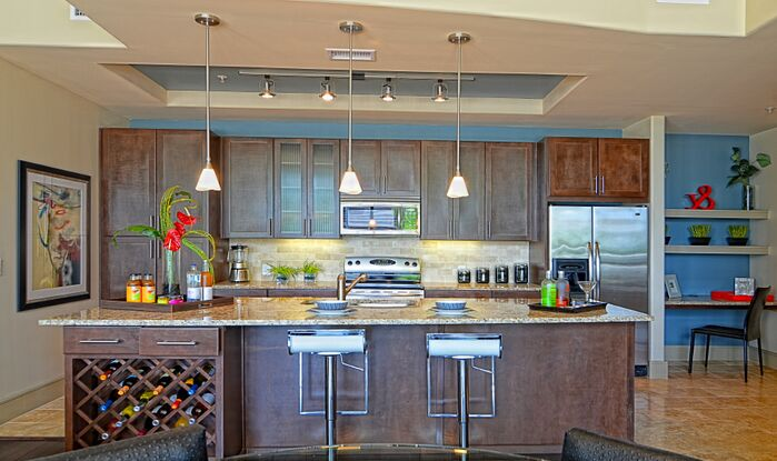 Modern Kitchen photo by Esther LaVonne Design