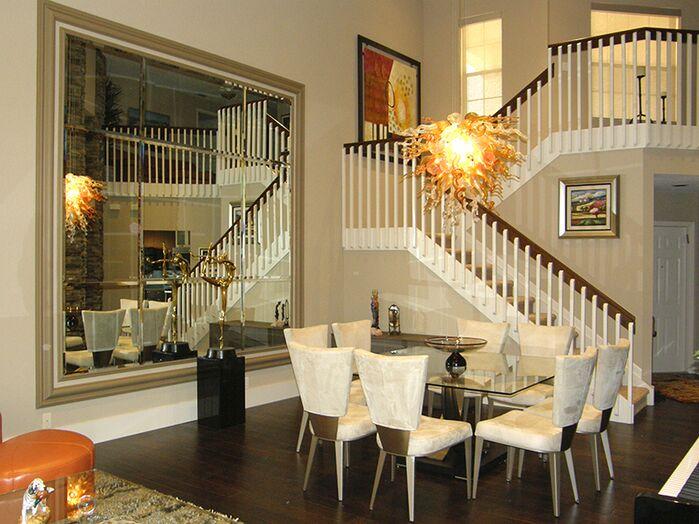 Eclectic Dining Room photo by Ken Golen Design