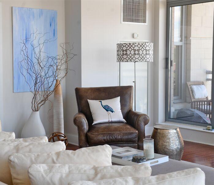 Coastal Living Room photo by Beth Interiors