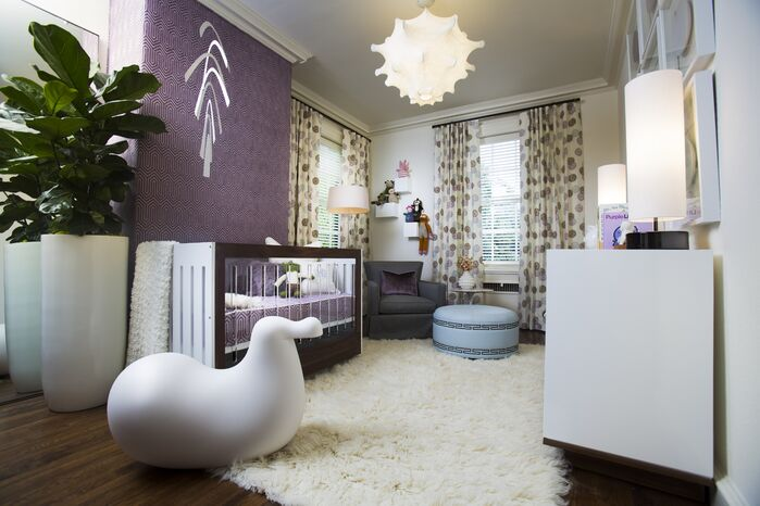 Eclectic Nursery photo by Musso Design Group