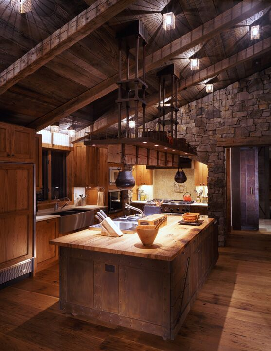 Rustic Kitchen photo by Studio Frank