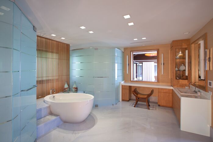 Contemporary Bathroom photo by B. Pila Design Studio