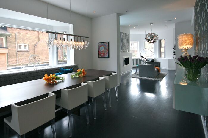 Modern Dining Room photo by catlin stothers design