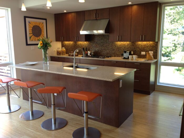 Contemporary Kitchen photo by Blu Homes