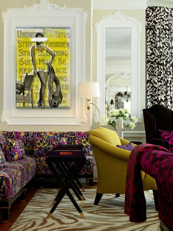 Eclectic Living Room photo by Wayfair