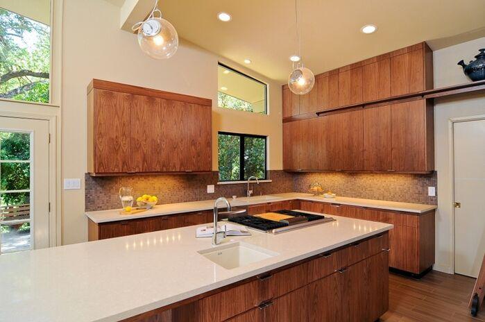 Modern Kitchen photo by Kerrie Kelly Design Lab