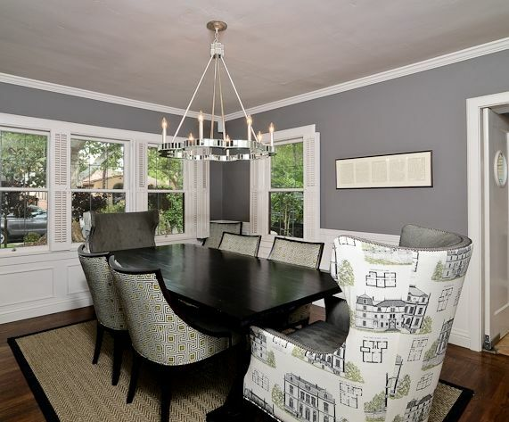 Contemporary Dining Room photo by Kerrie Kelly Design Lab