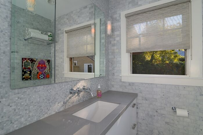 Modern Bathroom photo by Kerrie Kelly Design Lab