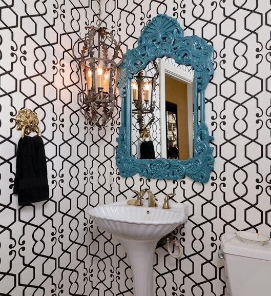 Eclectic Bathroom photo by Kerrie Kelly Design Lab