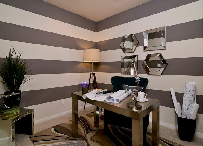 Modern Home Office photo by Kerrie Kelly Design Lab